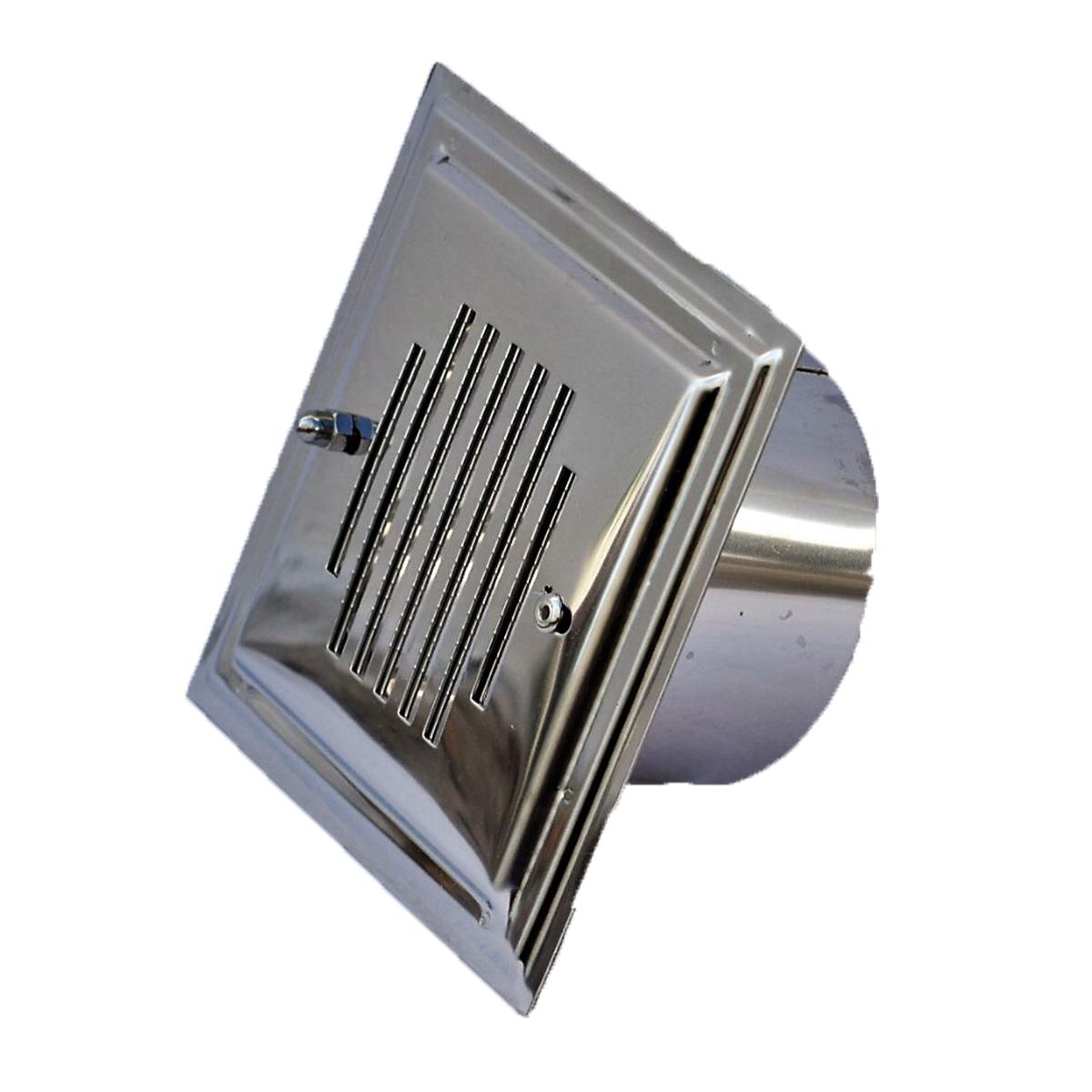 Jr baluja acero inox barbacoa extractora chimenea acero - Rejilla de ventilacion regulable ...